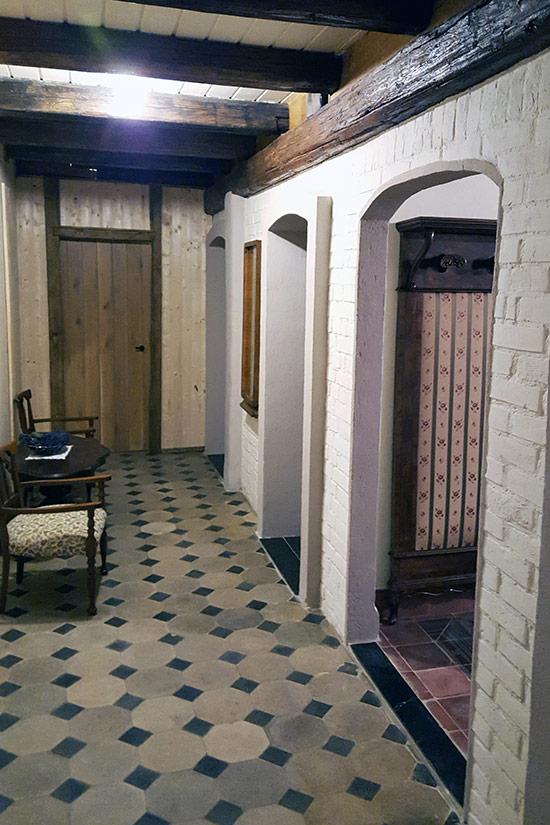 Duplex lakosztály folyosó