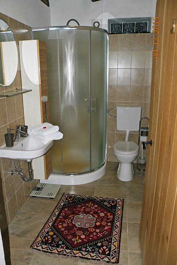 Duplex lakosztály fürdőszoba